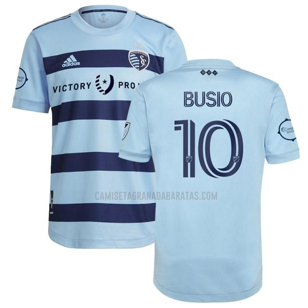camiseta busio primera del sporting kansas city 2021-22