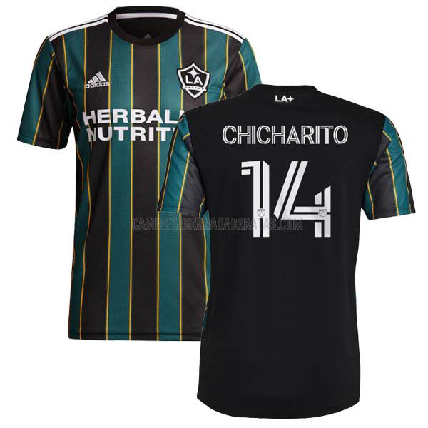 camiseta chicharito segunda del la galaxy 2021-22