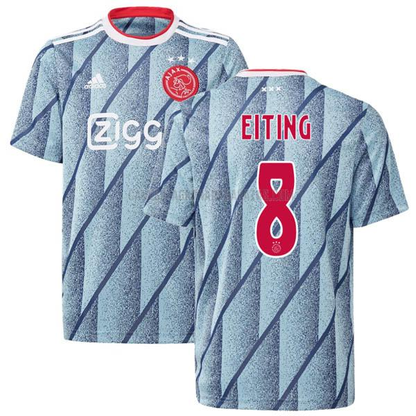camiseta eiting segunda del ajax 2020-21