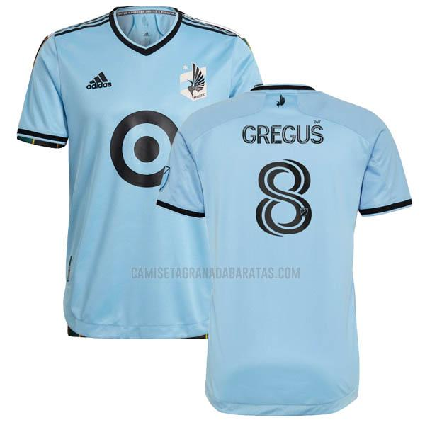 camiseta jan gregus primera del minnesota united 2021-22