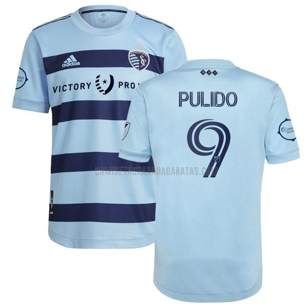 camiseta pulido primera del sporting kansas city 2021-22