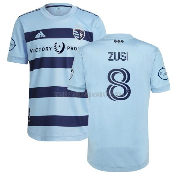 camiseta zusi primera del sporting kansas city 2021-22