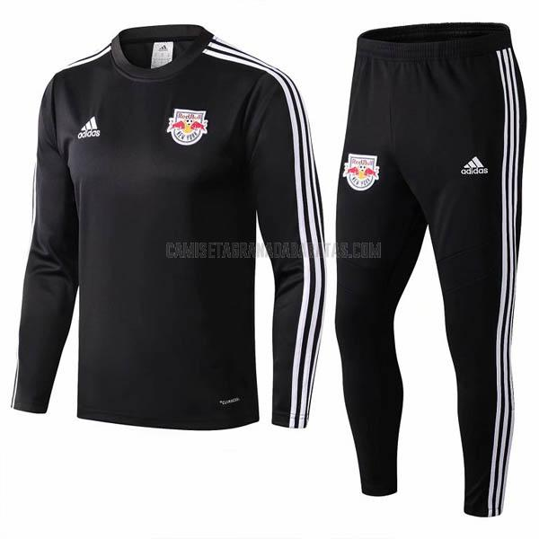 sudadera del new york red bulls negro 2019-2020
